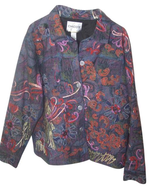 Preload https://item5.tradesy.com/images/chico-s-multi-color-floral-design-spring-jacket-size-2-xs-3193669-0-0.jpg?width=400&height=650