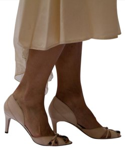 Pedro Garcia Sweatheart High Heel Sandal Wedding Shoes