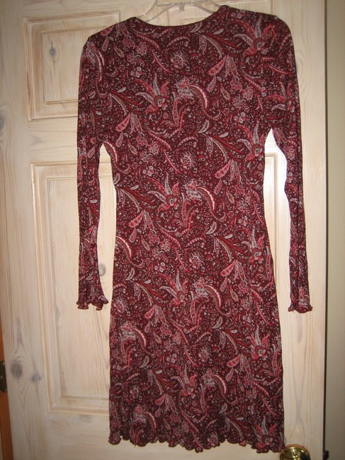 Old Navy short dress Burgandy on Tradesy