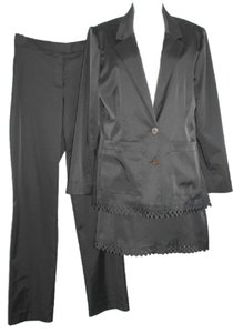 Nicole Miller NWOT NICOLE MILLER STRETCH 3-PC. BLACK PANT SKIRT SUIT 6