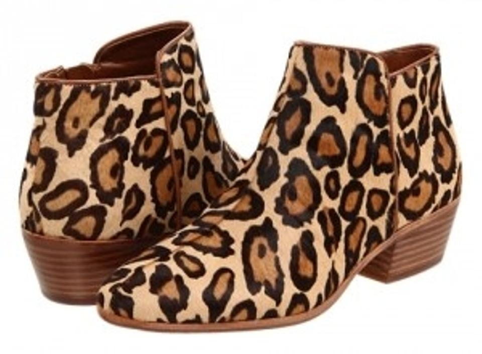 1487942e3b963f Sam Edelman Leopard Petty Boots Booties Size US 8.5 Regular (M