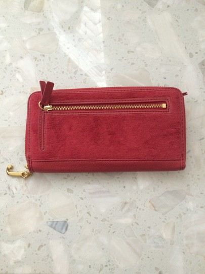 Juicy Couture Juicy Couture Red Velour Wallet