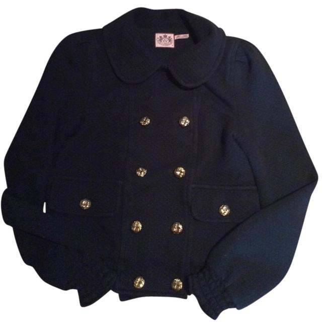 Preload https://item4.tradesy.com/images/juicy-couture-black-button-up-cardigan-sweaterpullover-size-8-m-3196078-0-1.jpg?width=400&height=650
