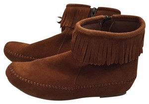 Dirty Laundry Tan Leather Moccasin Boots