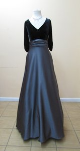 Alfred Angelo Black/Charcoal 7345l Dress