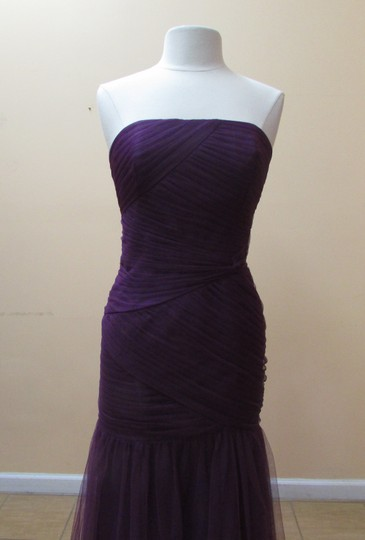 Alfred Angelo Spring Viole Soft Net 8609 Modern Bridesmaid/Mob Dress Size 12 (L)