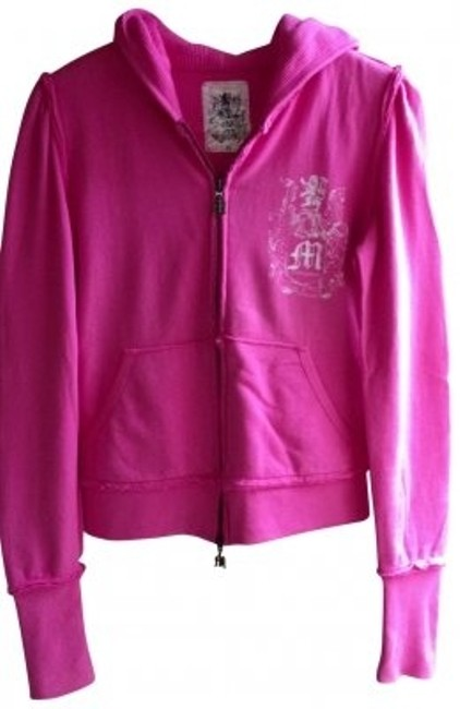 Preload https://item1.tradesy.com/images/morphine-generation-pink-waffle-knit-lined-zip-sweatshirthoodie-size-8-m-31965-0-0.jpg?width=400&height=650