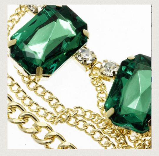 Other GREEN NECKLACE AND EARRING SET
