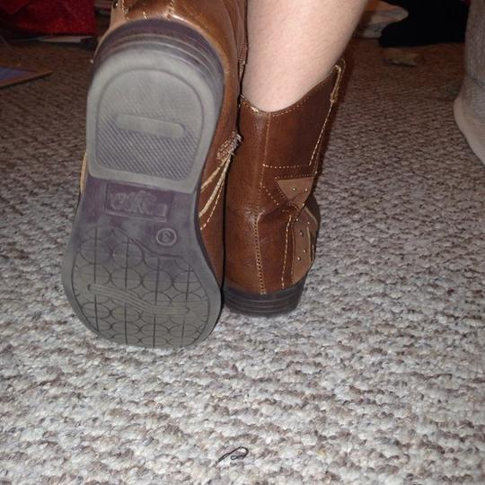 Bongo Cowgirl Brown Boots