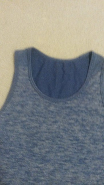 Lululemon Lululemon tank blue size 10 no built in bra