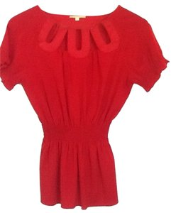 Gianni Bini Top Red