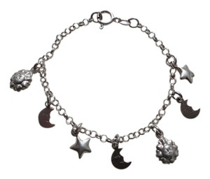 New 925 Sterling Silver Charm Bracelet for Girls