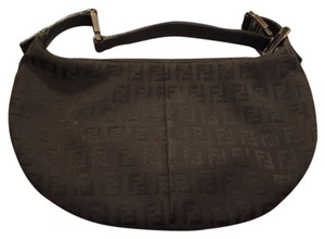 Fendi Satchel in Black and Gray