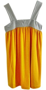 Julie's Closet Chic Flowy Top yellow-grey