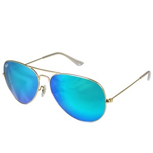 3af8999ac4 Ray-Ban Authentic Ray-Ban Aviator Flash Sunglasses RB3025 112-17 Blue Mirror