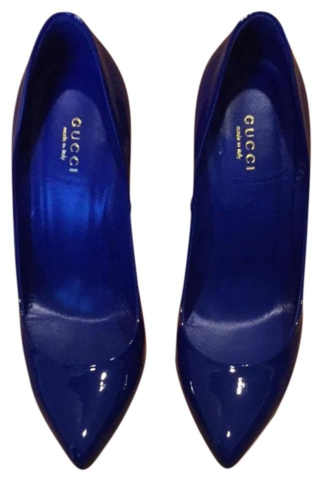 2985781dbc43 Gucci Blue Pumps Size US 7.5 Regular (M