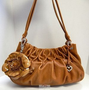 Brighton Nutmeg Leather Shoulder Bag