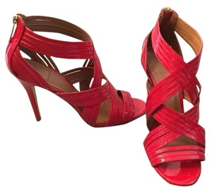 Tory Burch Strappy Red Pumps
