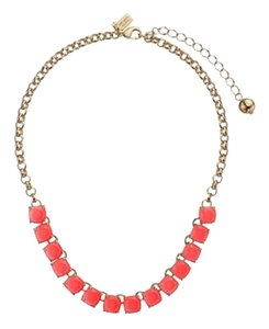 Kate Spade KATE SPADE NEW YORK Squared Away Necklace Geranium