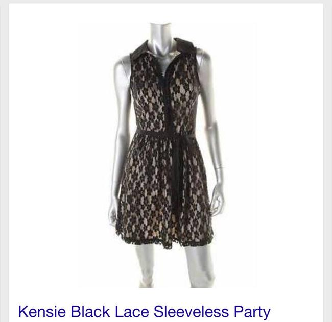 Kensie Party Cocktail Lace New Year's Eve Dress