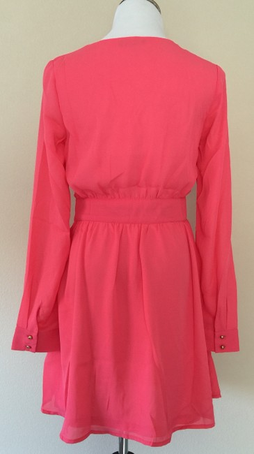 Boutique short dress Coral Nwot on Tradesy