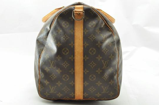 Louis Vuitton Vintage Classic Keepall Carryon Mens Womens Brown Monogram Travel Bag