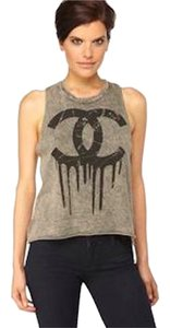 Other Cc Melting Sleeveless Cotton Top Gray