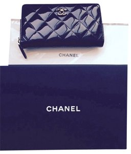 8dc05c196ace3c Chanel NWT Chanel Patent Leather Black Boy Wallet NWT