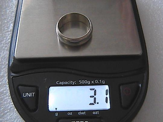 Other Sterling Silver Band Ring