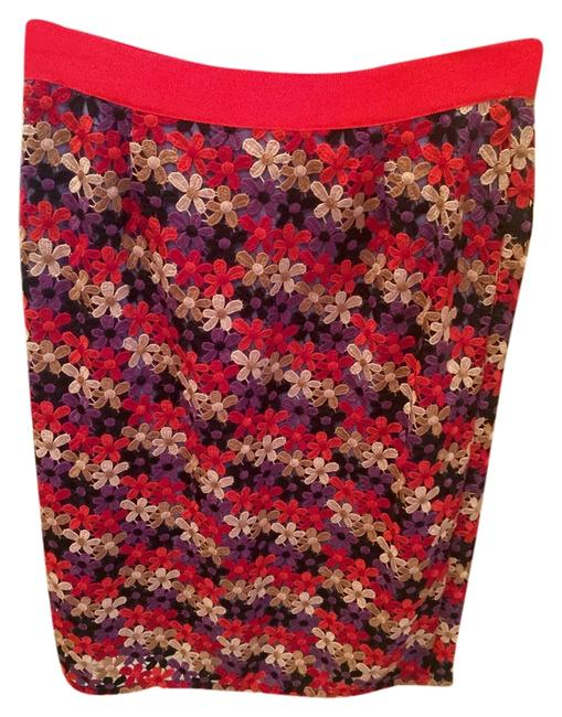 Kate Spade Multicolor New York Pencil Skirt Size 0 (XS, 25) Kate Spade Multicolor New York Pencil Skirt Size 0 (XS, 25) Image 1