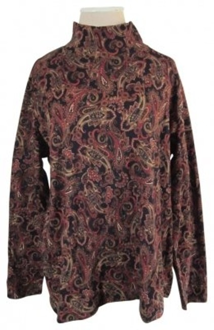 Preload https://item4.tradesy.com/images/jones-new-york-black-with-paisley-print-mock-turtleneck-w-design-sweaterpullover-size-20-plus-1x-32053-0-0.jpg?width=400&height=650