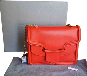 Alexander McQueen Satchel in Bright red
