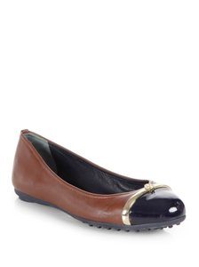 Tory Burch Almond/Navy Flats