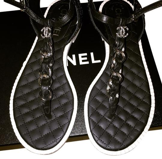 Preload https://item5.tradesy.com/images/chanel-black-and-white-sandals-3205939-0-0.jpg?width=440&height=440