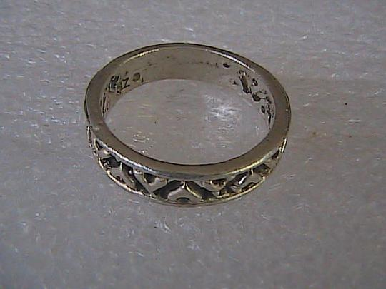 Other Vintage Sterling Silver Band Ring