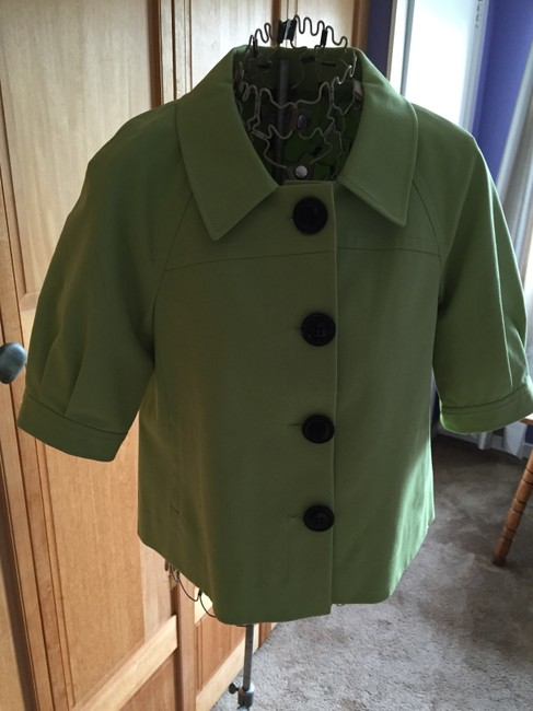 Tahari Suiting Suits Lime green Jacket
