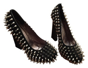Jeffrey Campbell Studded Black Pumps