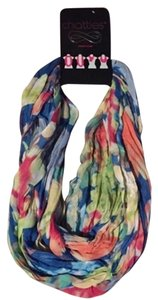 Chatties Floral Print Infinity Scarf