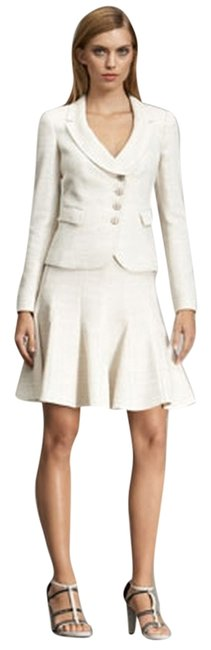 Preload https://item3.tradesy.com/images/armani-collezioni-cream-basketweave-jacquard-jacket-and-godet-skirt-suit-size-2-xs-3207022-0-0.jpg?width=400&height=650