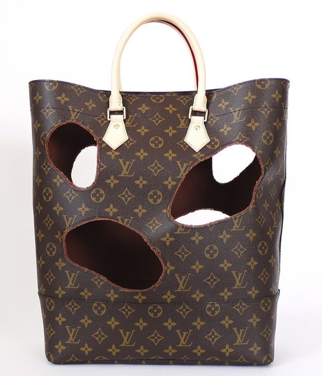 Louis Vuitton Limited Comme Des Garcons Rare Tote in Brown