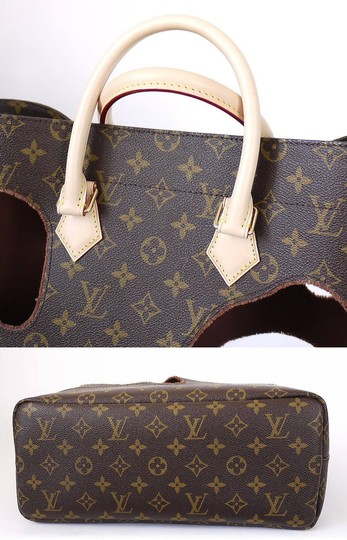 Louis Vuitton Limited Edition Comme Des Garcons Rare Tote in Brown