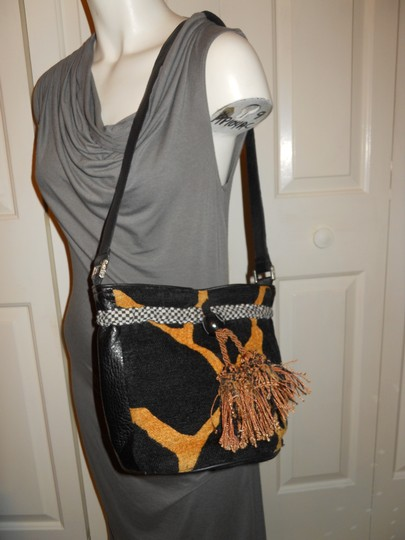 Silver Plum Shoulder Bag