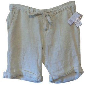 Joie Cuffed Shorts Light Gold