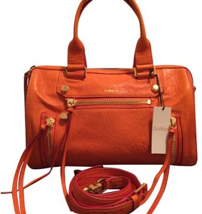 Botkier Satchel in Coral (orange)