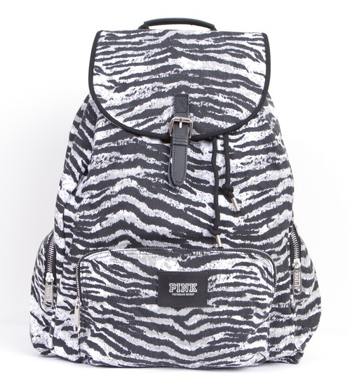 Preload https://img-static.tradesy.com/item/3208789/pink-victoria-s-secret-zebra-canvas-backpack-0-1-540-540.jpg
