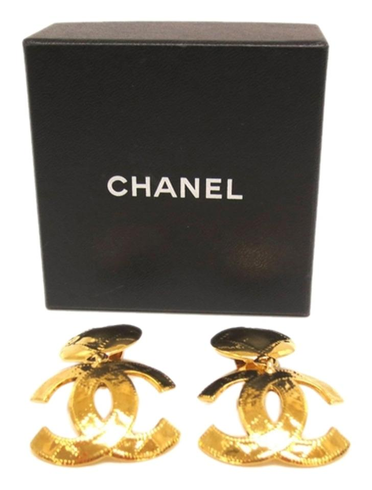 vintage earrings coco chanel season 23