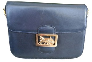 Cline Vintage Celine Box Shoulder Bag