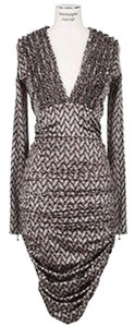 Thomas Wylde Silk Backless Dress