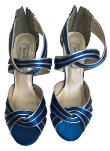 Touch Ups Blue Sandals