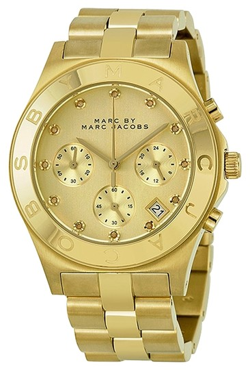 Preload https://item3.tradesy.com/images/marc-by-marc-jacobs-marc-jacobs-mbm3101-women-s-gold-analog-watch-with-champagne-dial-3210337-0-0.jpg?width=440&height=440